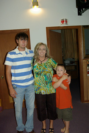 Shawns baptism Sept 2009