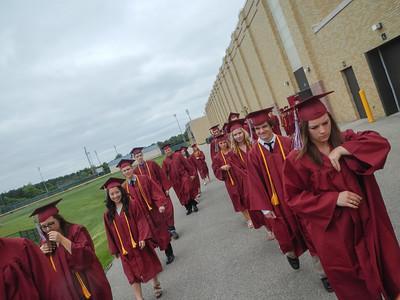 Badger High School Graduation Class of 2013