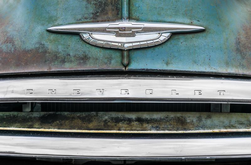 50s Chevrolet logo