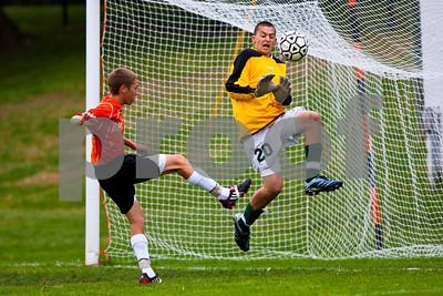 Brighton High School JV Soccer vs. Howell 10-08-09