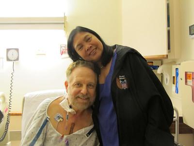 Dad in Hospital, St. Luke's Hospital, Bethlehem (8-29-2012)