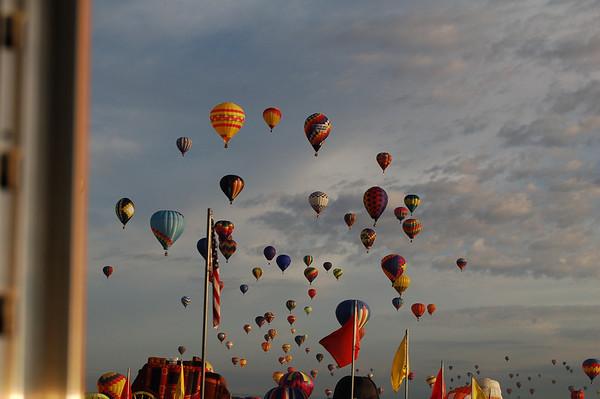 Ballon Festival  Nancy's View
