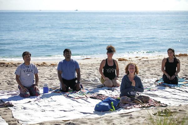Yoga on the Beach with Adriana 11-10-18