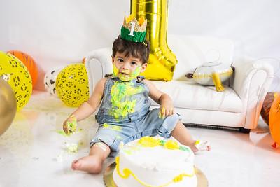 Jacobson 1st Birthday Cake Smash