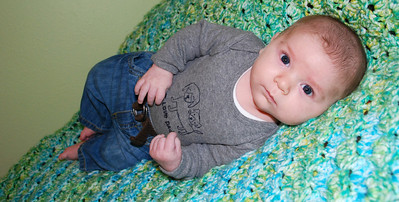 13, January 17th:  Tanner is 2 months old!