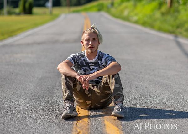 Cage Althoff Senior Pictures