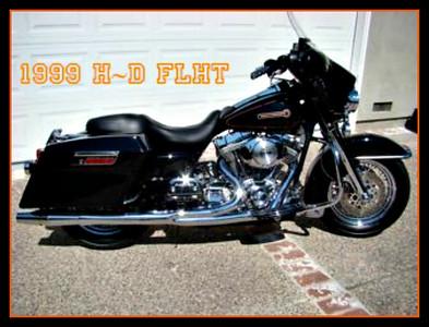 1999 HD FLHT Bagger