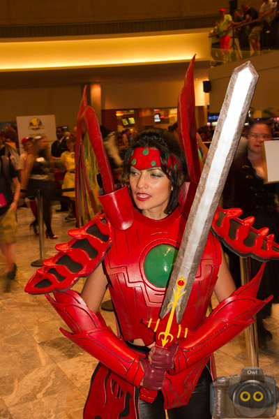 Cosplayers at DragonCon 2015