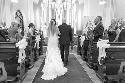 Church Ceremony- Stephanie Laviolette Corey Merick New England Wedding Photographer- Bride Groom Bridal Portrait Photos- Kimberly Hatch Photography- Log Cabin Delaney House Holyoke MA- Sacred Heart Church Springfield Massachusetts- Holyoke Canoe Club- Lud