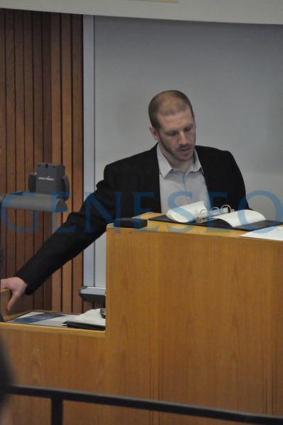 PolySci Speaker (Photos by SH)