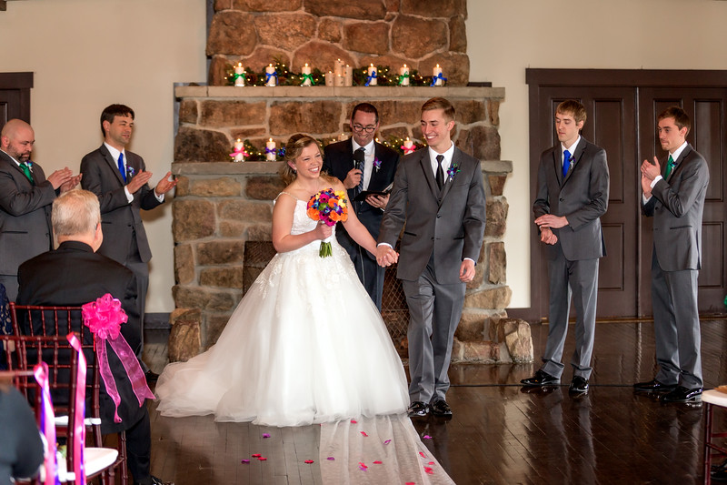 Jena & Joel's Wedding Day at Mary's Lake Lodge