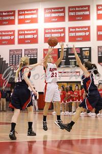2012-2013 Teasley Girls Basketball