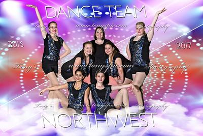 Dance team 2016-17