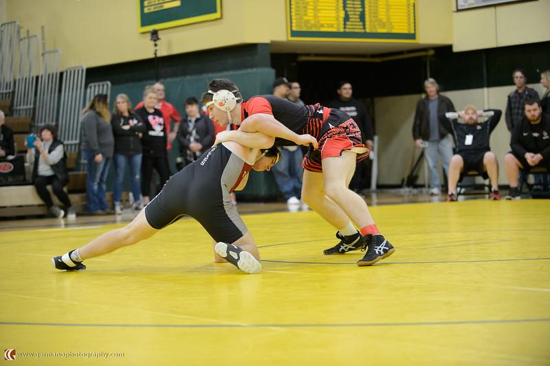 182 Tualatin vs Oregon City Bout 173 Strahm v Drews