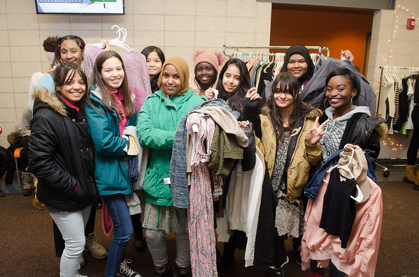 12/8/17 9th Annual Fashion Student Clothing Giveaway