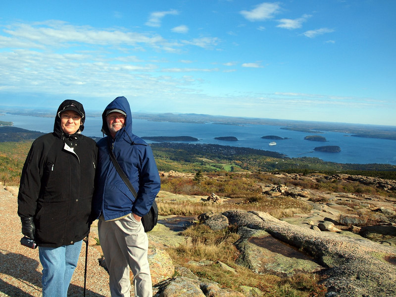 Cindy & David - Cadillac Mountain, Acadia National Park