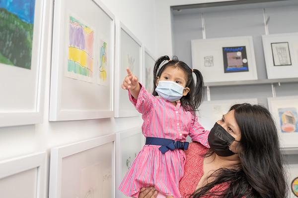 Pre School Children Art Exhibit