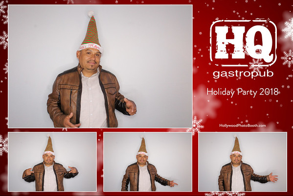HQ Gastropub Holiday Party
