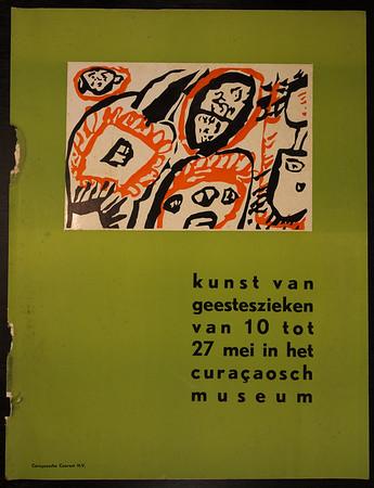 Kunst van Geesteszieken; Curaçao Museum 1960