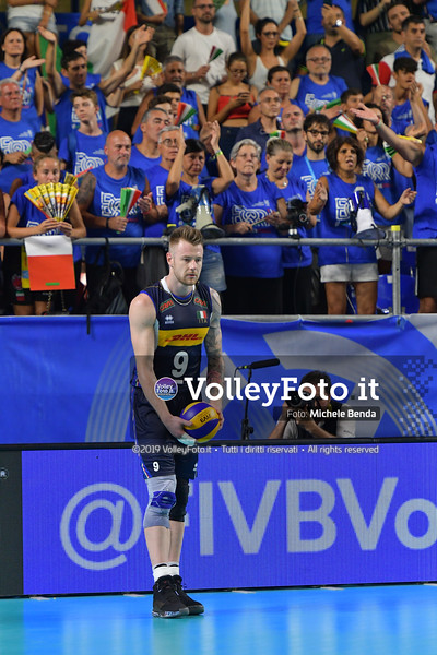 ITALIA vs SERBIA, 2019 FIVB Intercontinental Olympic Qualification Tournament - Men's Pool C IT, 11 agosto 2019. Foto: Michele Benda per VolleyFoto.it [riferimento file: 2019-08-11/ND5_7193]