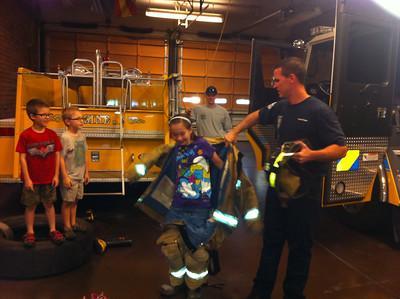 Fire Station Field Trip 10/20/2012