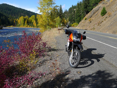 Naches River, Raven's Roost Oct 22, 2011