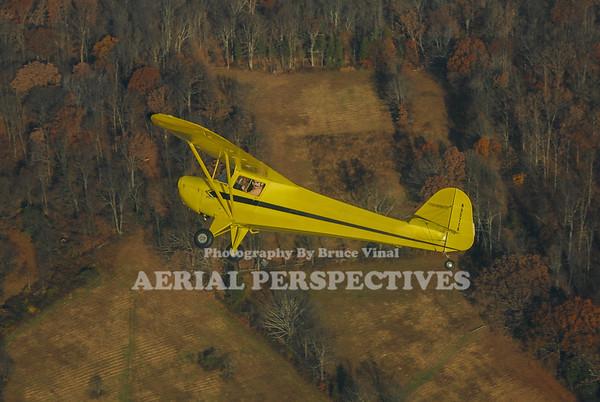 Taylorcraft/ Cessna 150 Shoot 11/14/10 N95716 N9297U