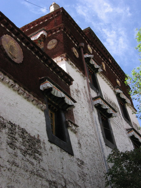 A building at the Potala Palace