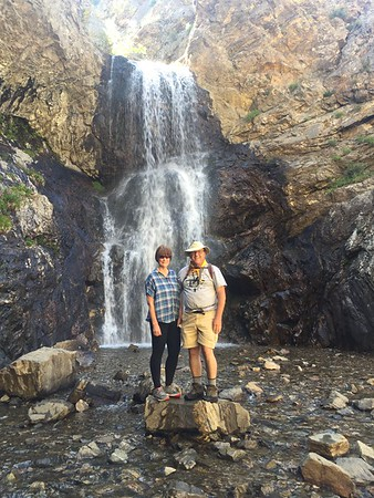 Adams Canyon Waterfall June 2018