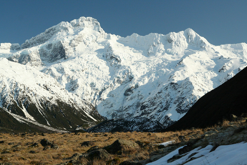 Mt Sefton from Mt Cook Village
