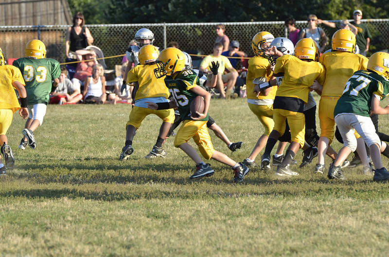 Wildcats vs Raiders Scrimmage 089.JPG