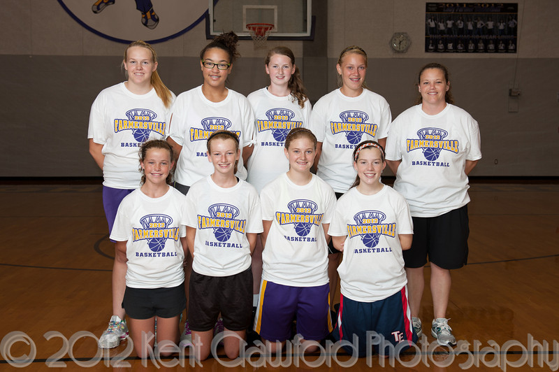 Farmersville Basketball Camp 2012