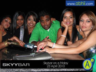 SkyBar - 23rd April 2010