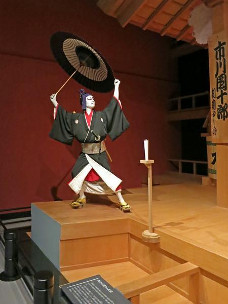 Authentic Kabuki character and costume