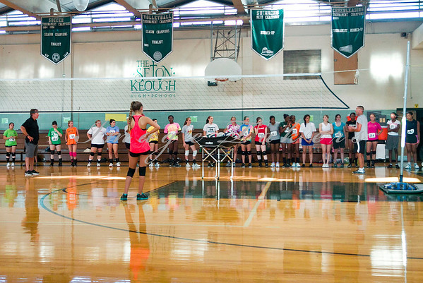 2012 VB Thursday Tryouts