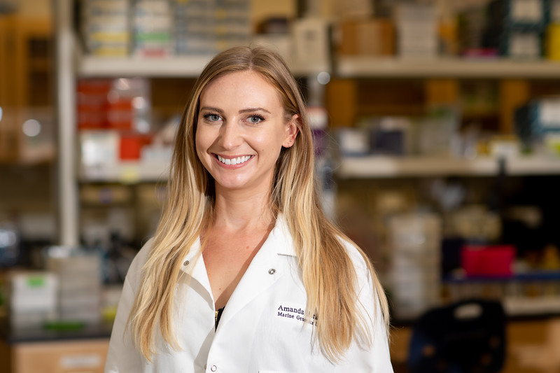 Amanda Barker HRI Marine Genetics