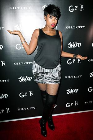 Jennifer Hudson at the Gilt City