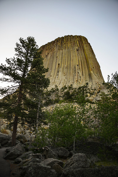 Devils Tower - last shot before i left.