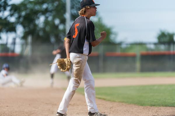 Dylan Rose 2017 RHS Freshman Baseball Season