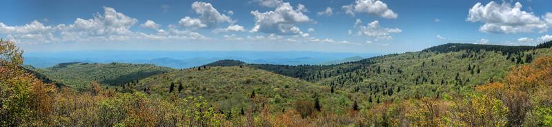 Mountains-to-Sea Trail -- 5,850'