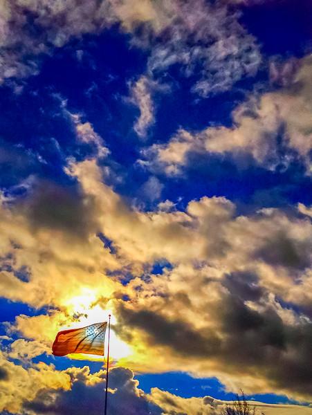 American Flag, Liberty Lake, Washington