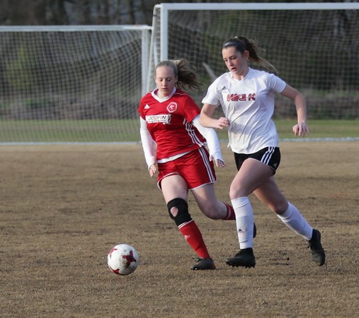 Kickers u17g North vs BeachFC 02 Red