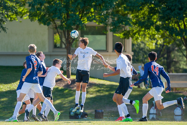 Fall 2019:  Boys Varsity Soccer at Potomac School
