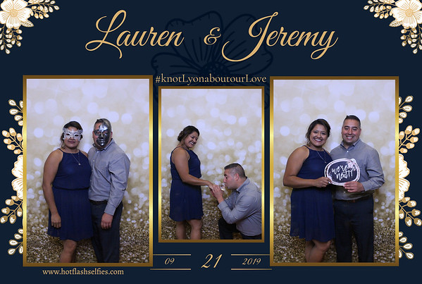 Lauren and Jeremy
