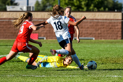 Park City at Bonneville Girls Soccer 9-27-17
