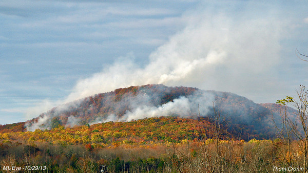 Mount Eve Fire - Day 8