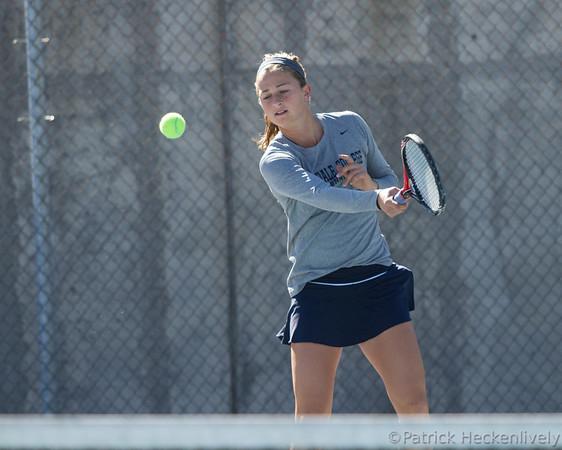 2013-10-13 Hillsdale College Women's Tennis vs. Malone
