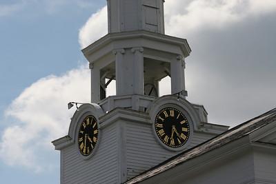 Town Clock Progress Slide Show