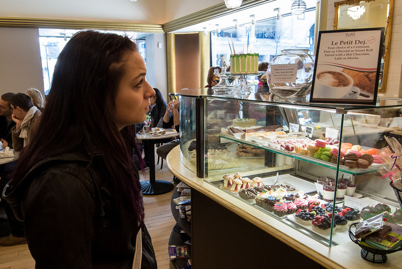 We visited a number of bakeries and sampled their product