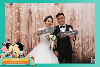 Ngọc Tuyền & Mạnh Thìn wedding instant print photo booth @ Capella Parkview Wedding & Convention | Chụp hình in ảnh lấy liền Tiệc cưới tại TP Hồ Chí Minh |  Photo Booth Vietnam